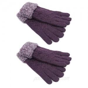 CERF BELL Gloves Warmer Knitted Gloves (2 Pack)