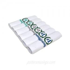 Mens 6 Pack #1 Grandpa Cotton Embroidered Handkerchiefs