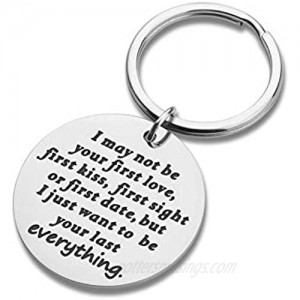 Boyfriend Husband Keychain Gift for Him Her from Girlfriend Wife Birthday Charm