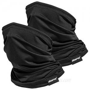 Neck Gaiter Face Mask Reusable Cloth Face Masks Bandana Balaclava Cover Scarf Shield