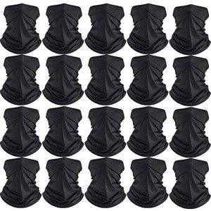 Summer UV Protection Neck Gaiter Scarf Balaclava Breathable Face Cover Scarf