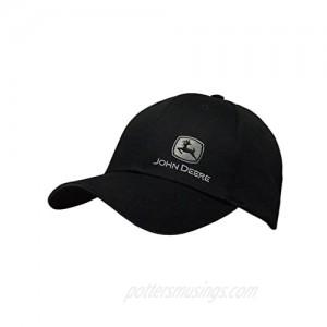 John Deere Men's 13080428BK  Black  One Size