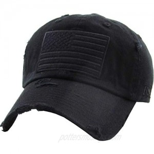 KBETHOS Men and Women Tactical Operator Collection with USA Flag Patch US Army Military Cap Fashion Trucker Twill Mesh