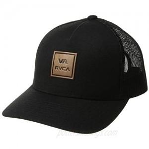 RVCA Men's Curved Bill Snapback Mesh Trucker Hat