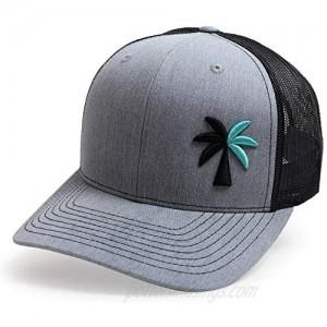 WUE Trucker Hat The Palm Tree Hat Snapback Hats for Men