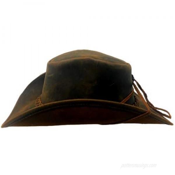 Bellmora Leather Cowboy Hat Traders Down Under