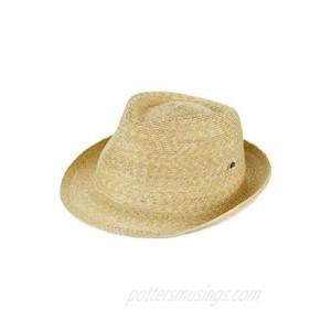 Classic Sun Hat Fedoras Summer Straw Hat Narrow Wheat Braid for Women/Men