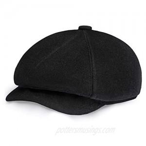 BABEYOND Newsboy Hat Cap for Men Women Gatsby Hat for Men 1920s Mens Gatsby Costume Accessories