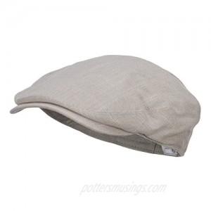 e4Hats.com Men's Linen Summer Ivy Cap