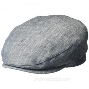 Henschel Men's 100% Linen Ivy Hat with Cotton Lining