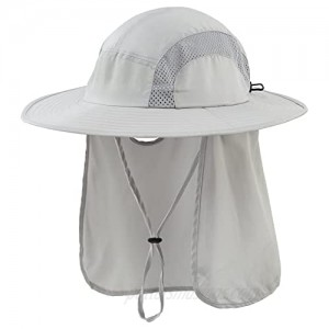 Connectyle Kids UPF 50+ Sun Hat with Neck Flap Summer Sun Protection Beach Hat