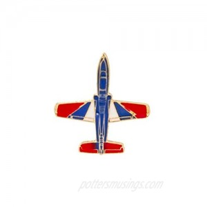 A N KINGPiiN Fighter Aircraft Lapel Pin Badge Gift Party Shirt Collar Costume Pin Accessories for Men Brooch