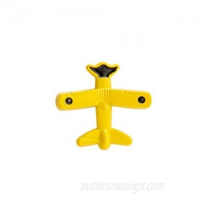 A N KINGPiiN Yellow Vintage Airplane Lapel Pin Badge Gift Party Shirt Collar Costume Pin Accessories for Men Brooch