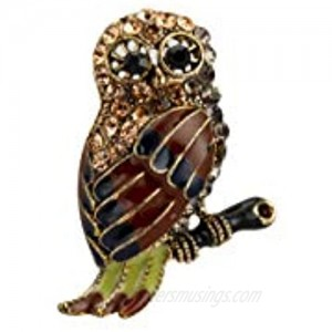 Knighthood Lucky Owl Lapel Pin Badge Coat Suit Collar Accessories Brooch for Men