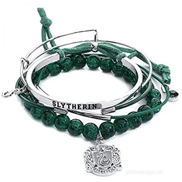 Harry Potter Slytherin Arm Party Bracelet Set