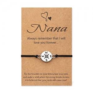 Tarsus Best Nana Wish Bracelets Birthday Jewelry Gift for Women
