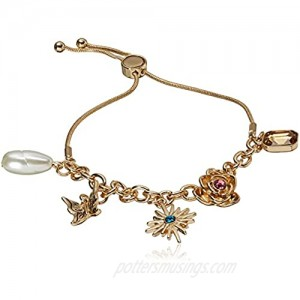 GUESS Slider Close Bracelet with Charms