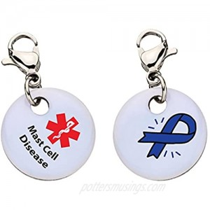 Mast Cell Disease Snap-On Bracelet Charm-Parent (Stainless Steel) 112