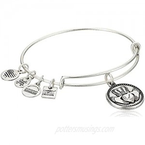 Alex and ANI Charity by Design  Claddagh Bangle Bracelet