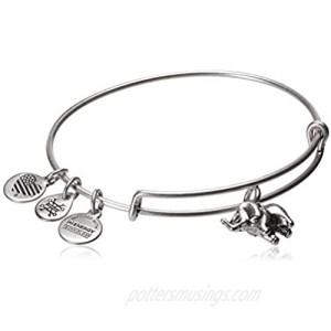 alex and ani charity by design  elephant ii bangle bracelet