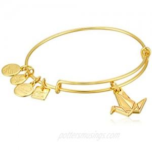 Alex and Ani Charity by Design  Paper Crane EWB Bangle Bracelet