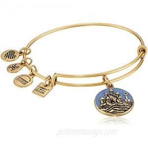 Alex and Ani Sand Castle EWB Bangle Bracelet