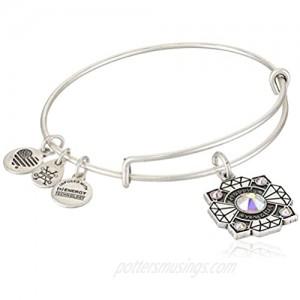 Alex and Ani Womens Bride EWB Bangle Bracelet Rafaelian Silver Expandable