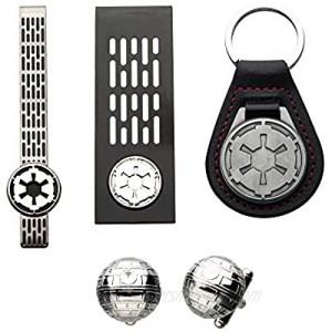 Star Wars Imperial Keychain  Tie Clip  Money Clip and Cufflink Set