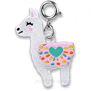 CHARM IT! Charms for Bracelets and Necklaces - Glitter Llama Charm