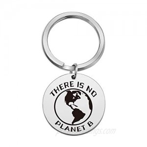 Commemorative Gifts Environmentally Friendly Earth Day Ideas Humanism Keychain
