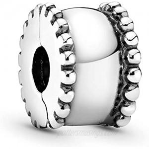 Pandora Jewelry Beveled Sterling Silver Charm