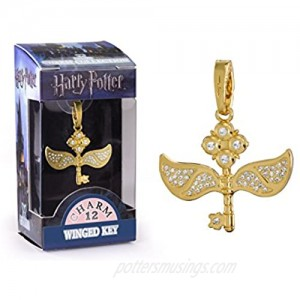 The Noble Collection Lumos Harry Potter Charm No. 12 - Winged Key