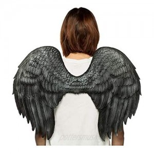 HMS Unisex-Adult's Supersoft Angel Wings-BK  Black  One Size