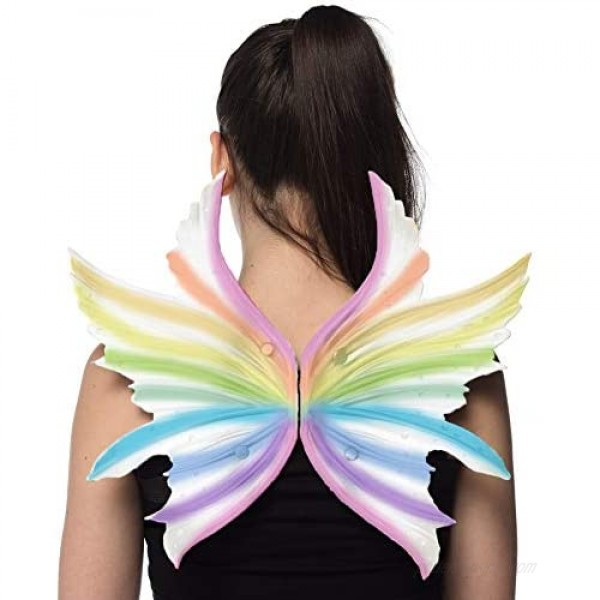 HMS Unisex-Adult's Supersoft Unicorn Wings White/Blue One Size