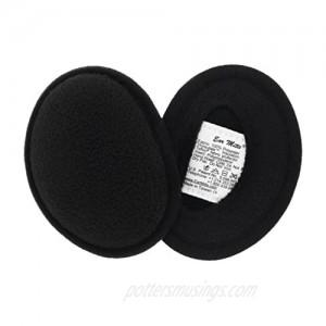 Ear Mitts Bandless Ear Muffs For Men & Women Soft Fleece Ear Warmers 2 Sizes