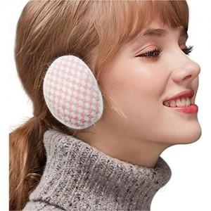 Ear Warmers Unisex Bandless Earmuffs Soft Winter Earmuffs For Women Men Lightweight/Comfortable