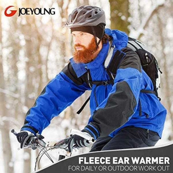 Fleece Ear Warmers Muff Winter Headband for Men Women Running Yoga Skiing Riding