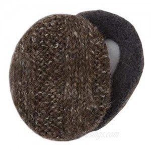 Mohair Earbags Bandless Ear Warmers Ear Muffs with Thinsulate For Men & Women