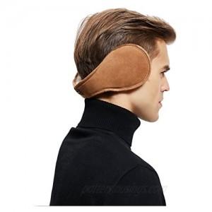 Sheepskin Wool Snug Earmuffs Ear Warmer - Australian Unisex Classic Earwarmer