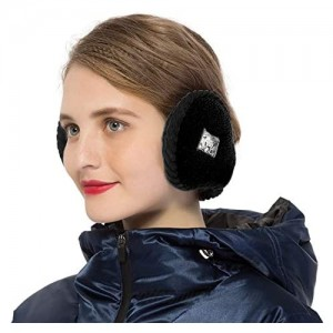 Surblue Unisex Warm Knit Earmuffs Ladies Outdoor Cashmere Winter Pure Color Fur Earwarmer