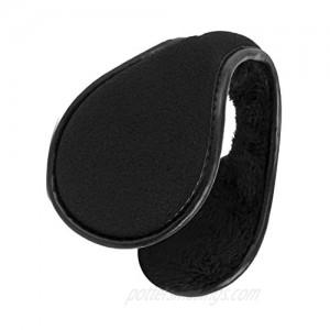 Warm Earmuffs Ear Warmers for Men Women Foldable Fleece Unisex Winter Outdoor Earmuffs